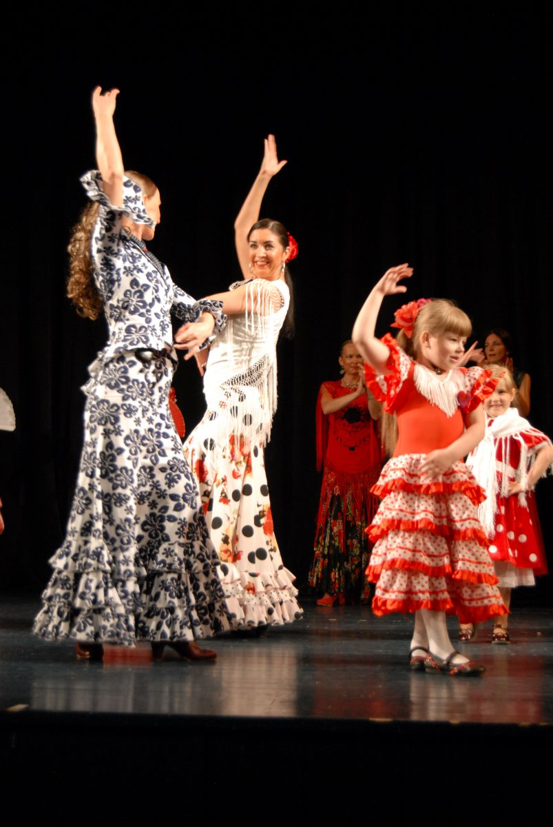 An insight in the dance studio`s DUENDE concert Duende es mi vida