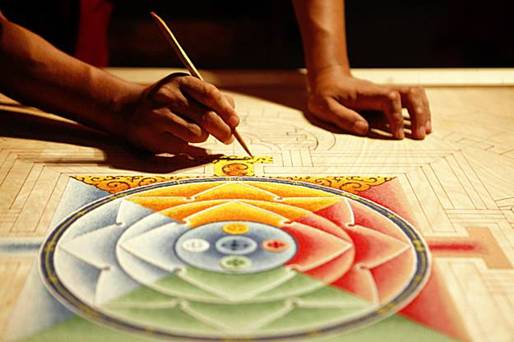 circle, color, feng shui, fibonacci, golden cut, harmony, mandala, proportion, spiral, symbol