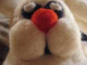 Felted rabbit