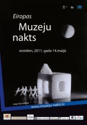 Programm for Museum Night in Riga, 2011