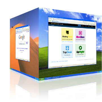 3D desktops for MS Windows
