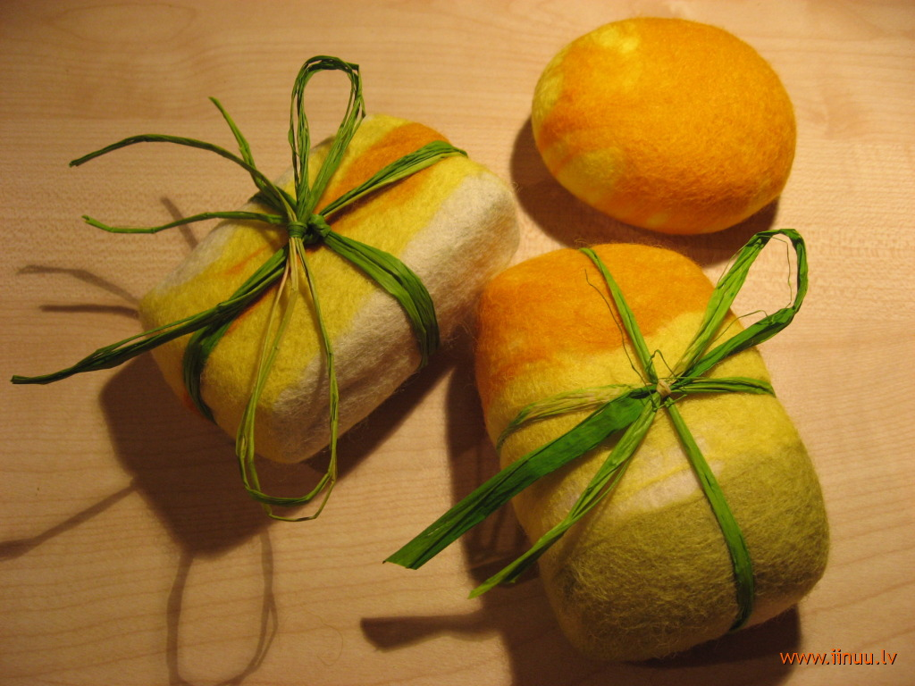 easter, felting, gift, handicrafts, soap, wool