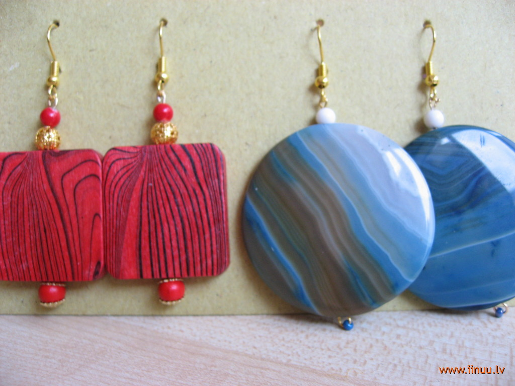 adornment, earrings, handcrafts, home made