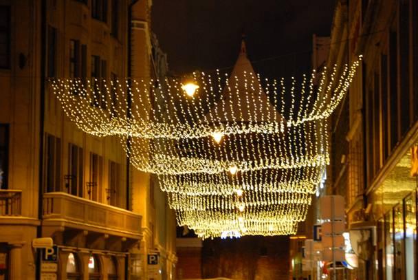 Riga a few hours before New Year