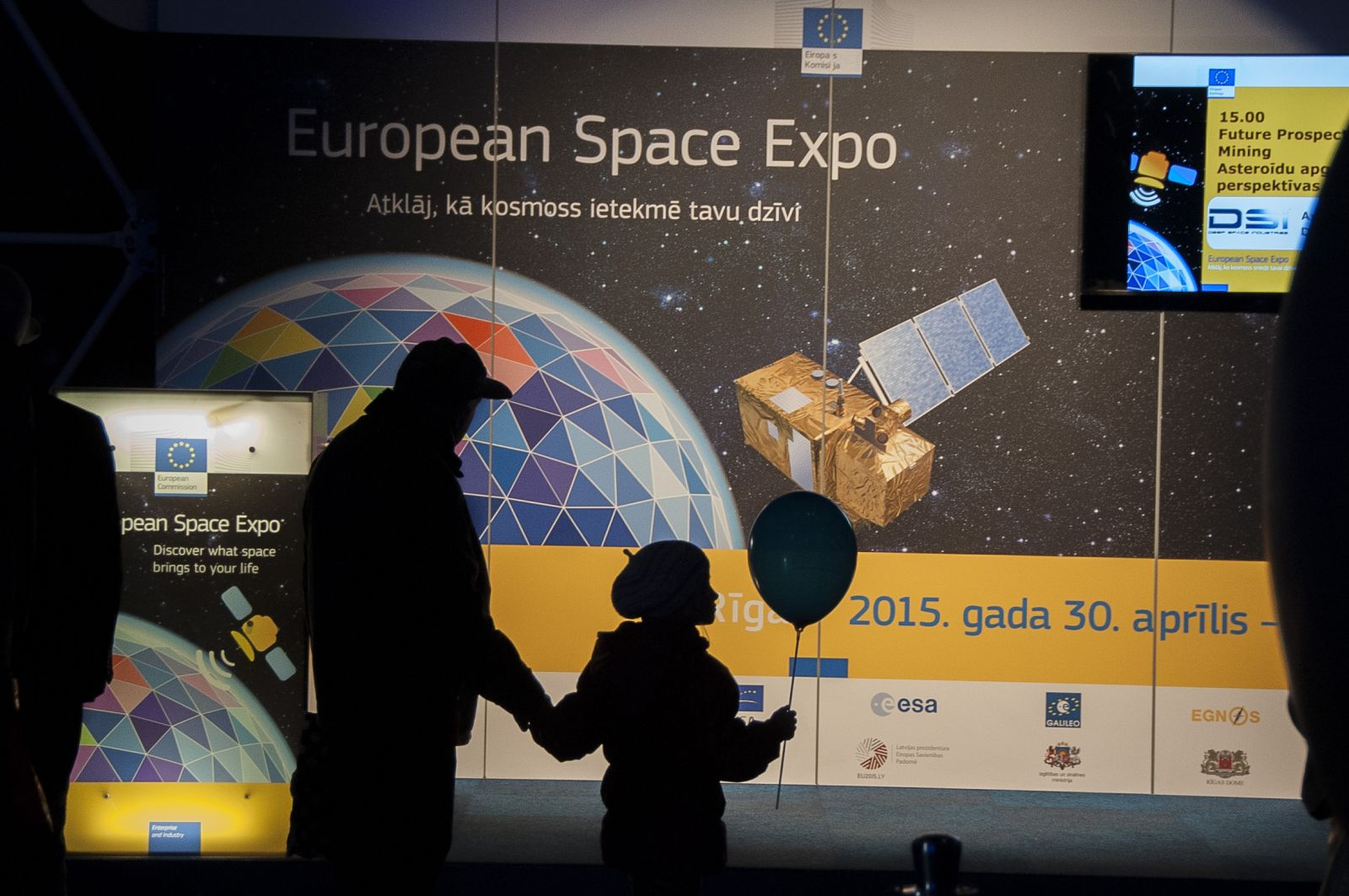 European Space Expo exhibition in Ekspanade