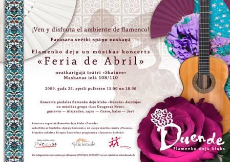 Feria de Abril - Spanish Spring Festival in Riga