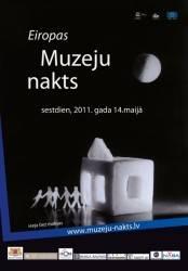 Programm for Museum Night in Riga, 2011