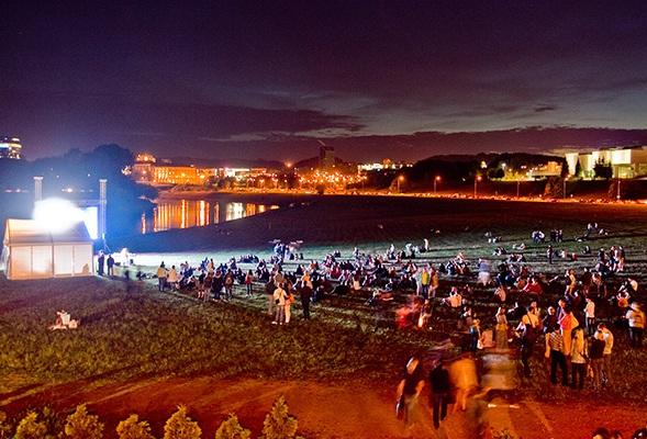 One night culture festival Kultūros naktis in Vilnius